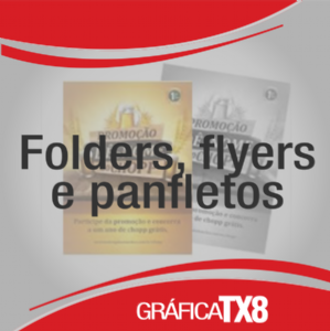 Folders, Flyers e Panfletos
